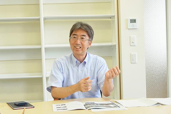 十文字_高校教頭の横尾康治先生