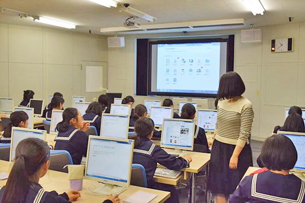 十文字_ICTは、各教科で有効に活用