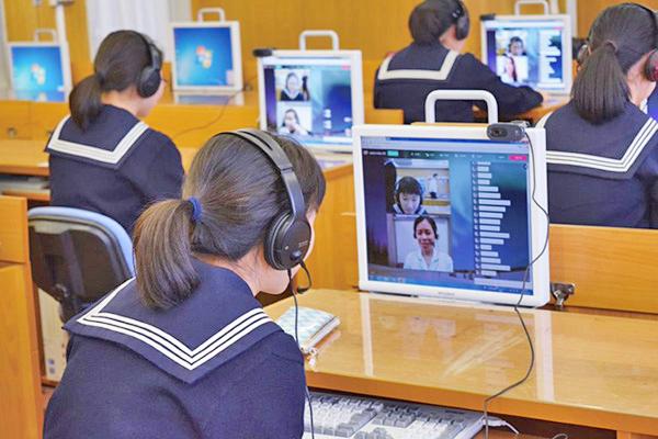 十文字_オンライン英会話は、生徒たちにも人気の授業