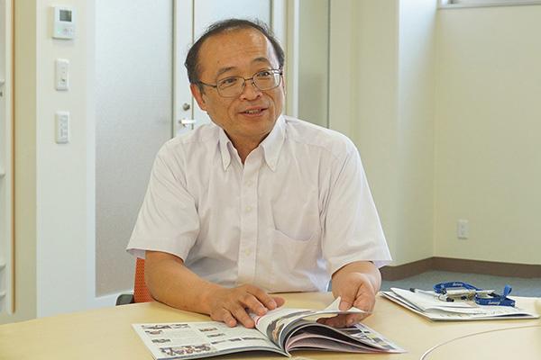 十文字_入試募集対策室長の和田吉弘先生