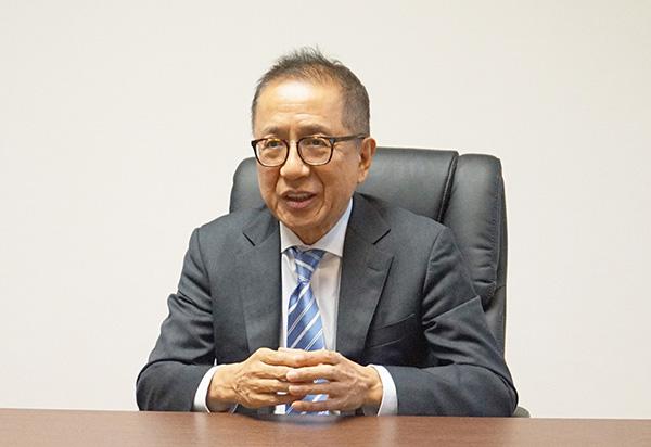 三田国学園HPより 恐喝未遂容疑で逮捕された大橋清貫学園長