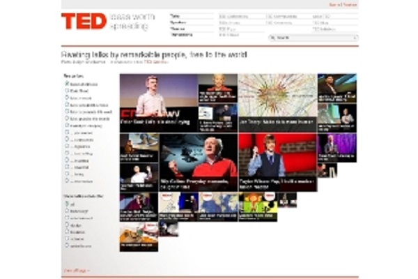 TEDのサイト